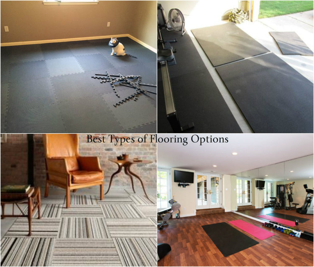 Best home gym flooring options