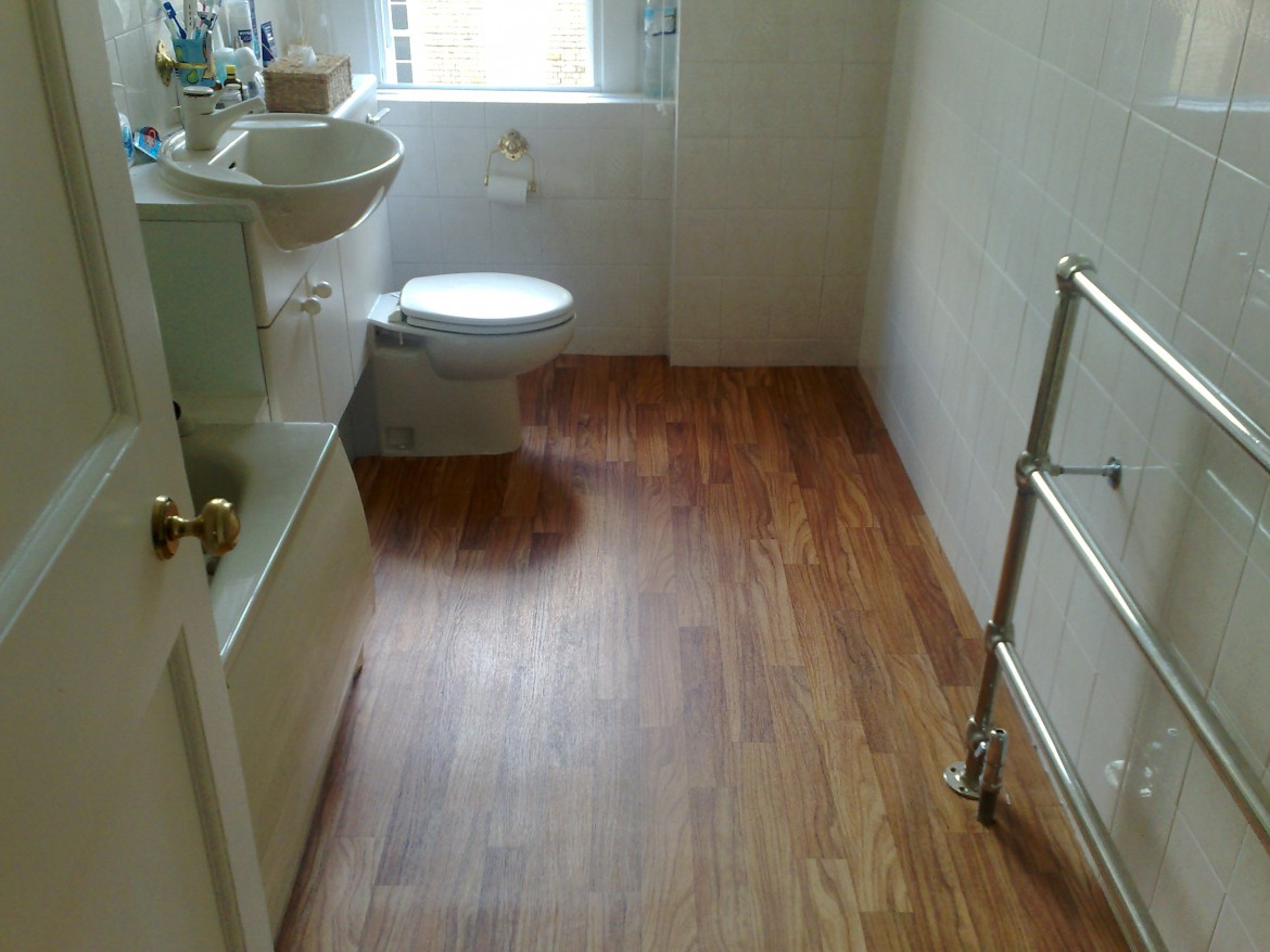 Is Laminate Flooring A Good Choice For Your Bathroom