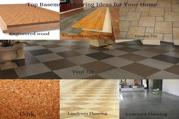 top basement flooring ideas for your home