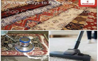 Effective Ways to Keep Your Shag Carpets and Rugs Clean