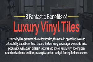 8 Fantastic Benefits of Luxury Vinyl Tiles - Feature Image