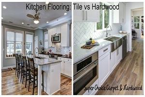 Kitchen Flooring - Tile vs Hardwood