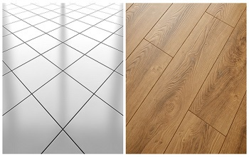 Tile vs. Hardwood - Featured